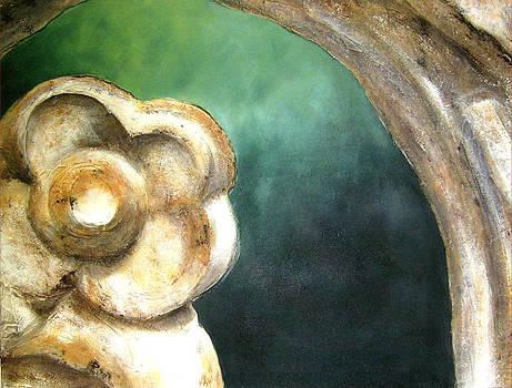 Texture Garden - Flora VI by Carla E Reyes