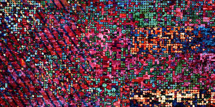 Mary Clanahan - Textured Circe Abstract