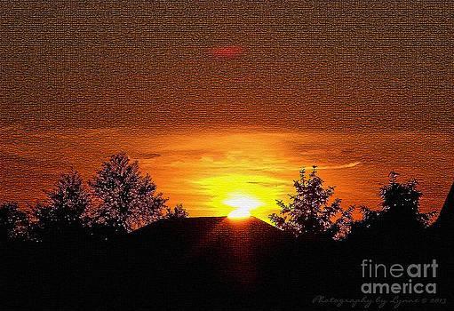 Gena Weiser - Textured Rural Sunset