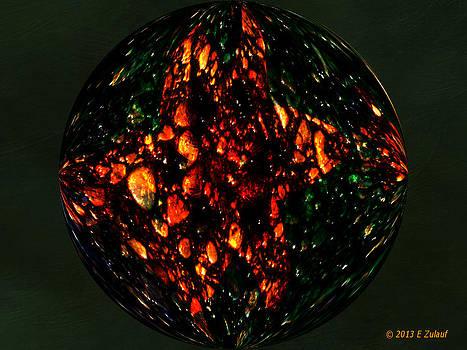 Textured Tiger Lily by Elizabeth S Zulauf