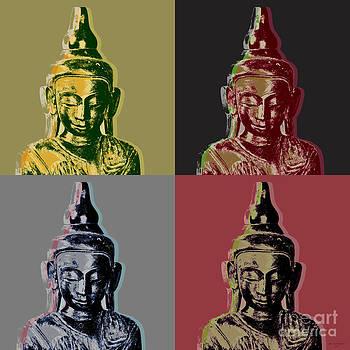 Thai Buddha by Jean luc Comperat