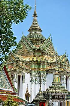 Thai Buddhist temple  by Bobby Mandal