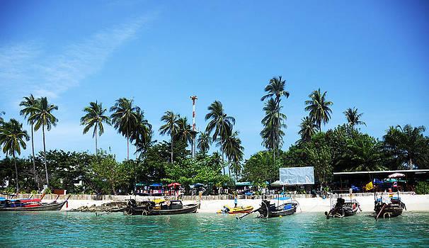 Thailand Beach by Money Sharma