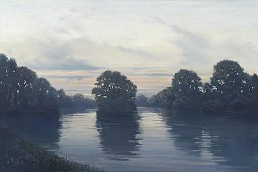Thames near Tilehurst by Richard Picton