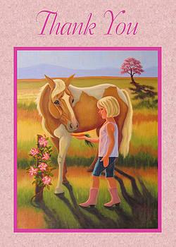 Ruth Soller - Thank You card