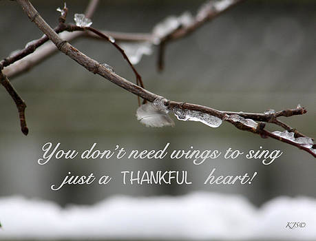 Kathy J Snow - Thankful Heart