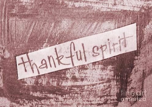 Thankful Spirit by Jackie Bodnar