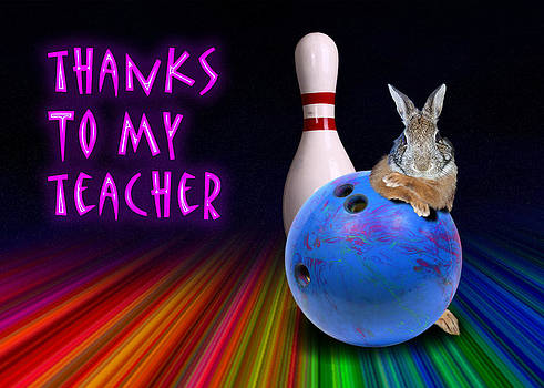 Jeanette K - Thanks To My Teacher Bunny