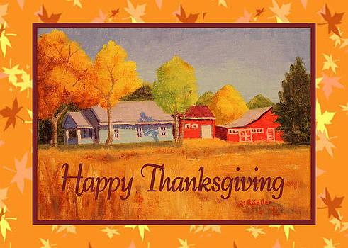 Ruth Soller - Thanksgiving Farm card