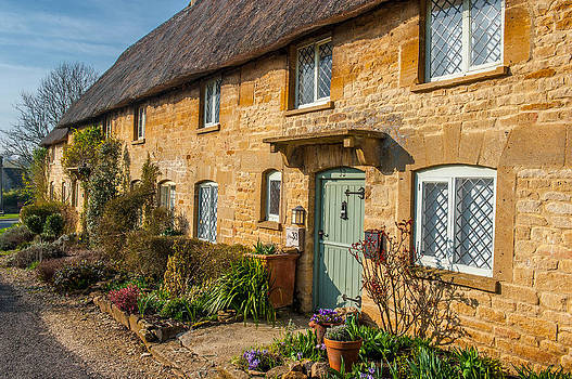 David Ross - Thatched Cotswold Cottage in Taynton Oxfordshire