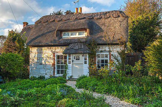 David Ross - Thatched Cottage in Brighstone Isle of Wight
