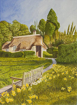 Thatched Roof by C Wilton Simmons Jr