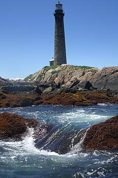 Thacher Island Lighthouse South by Rick Frost