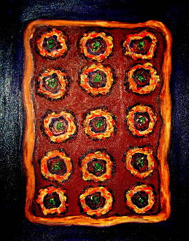 That's a pizza by Johanna Elik
