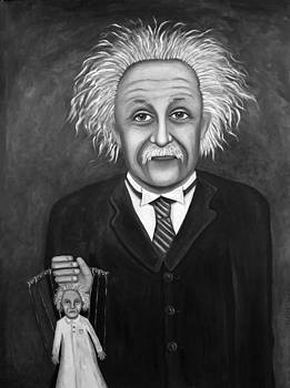 Leah Saulnier The Painting Maniac - The 2 Einstein