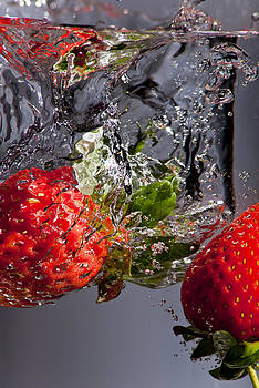 The 2 Strawberries go for a swim by Leon James
