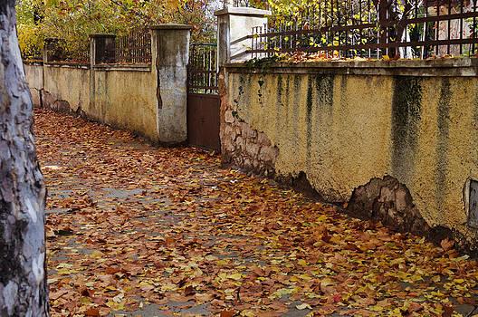 The abandoned entrance. by Jawaharlal Layachi