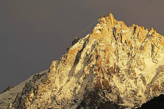 The Aiguilles mountain range peak by Alastair Wallace