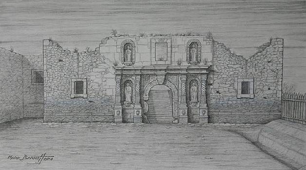 The Alamo - 1836 by Mark Barnett