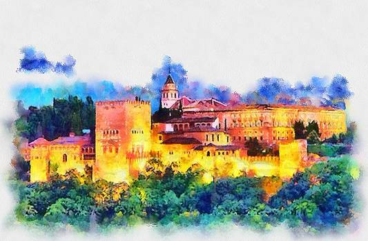 The Alhambra by Patrick OHare
