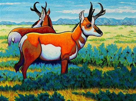 The Alliance Pronghorn by Joe  Triano