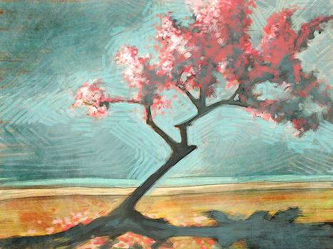 The Almond Tree by David Leiberg