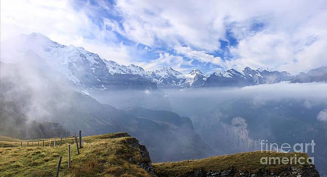 The Alps by Mina Isaac
