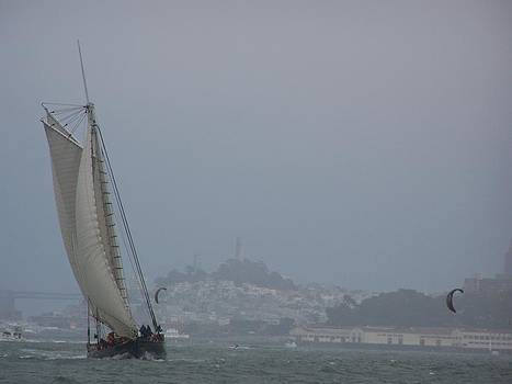 The America and San Fransisco by Patty Descalzi