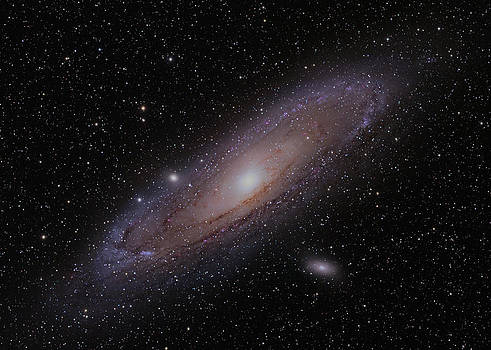 The Andromeda Galaxy by Brian Peterson