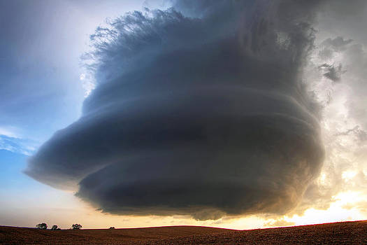The Ansley Nebraska Storm by Chris Allington
