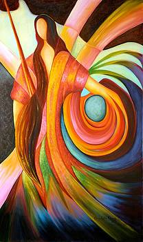 The Artist by Claudette Dean