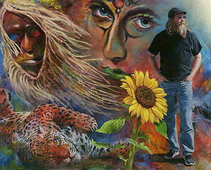 The Artist Pauses to Reflect and Consider by Don Michael Jr