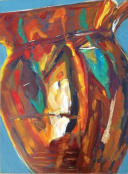 The Artist's Pitcher by Cindy Lawson-Kester