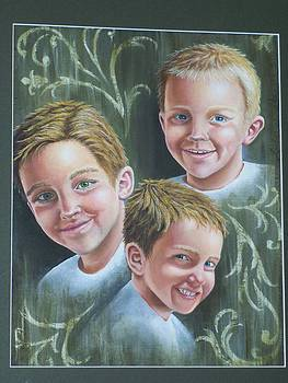The Atkinson Boys by Amber Whiting Bradley