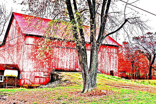 The Autumn Barn by Jay Nodianos