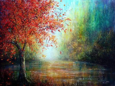 The Autumn Tree by Ann Marie Bone