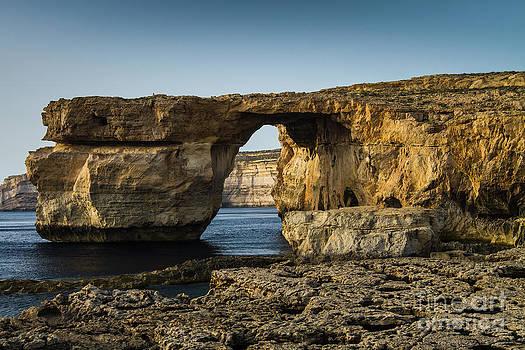 The Azure Window Malta by Gabor Pozsgai