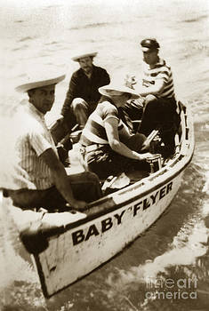 California Views Mr Pat Hathaway Archives - The Baby Flyer with Ed Ricketts and John Steinbeck  in Sea of Cortez  1940