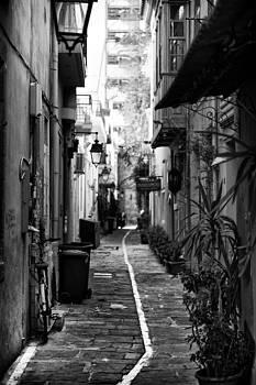 The back alley by Spyros Papaspyropoulos