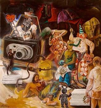 The Backstage by Edwin Jumalon