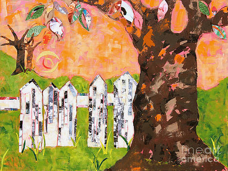 The backyard by Paula Drysdale Frazell