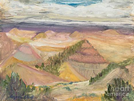 The Badlands of North Dakota by Suzanne Elliott