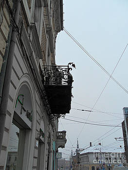 The balcony by Mada Lina