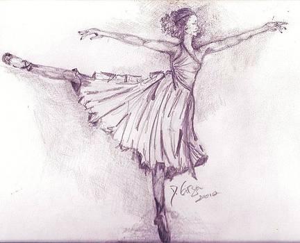 The Ballerina by Deborah Gorga
