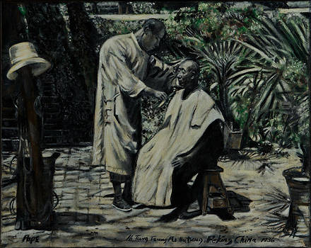 The Barber of Peking by Bruce Ben Pope
