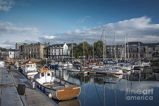 The Barbican Plymouth Devon by Donald Davis