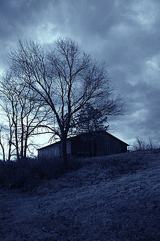 Nina Fosdick - the barn in blue
