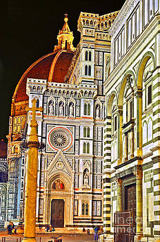Florence Cathedral of Santa Maria del Fiore by Lilianna Sokolowska