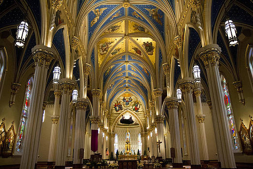 The Basilica of the Sacred Heart by Nathan Rupert