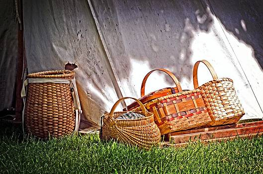 The baskets by Cheryl Cencich